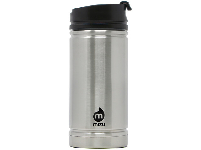 MIZU V5 Insulated Bottle 450ml with Coffee Lid, stainless